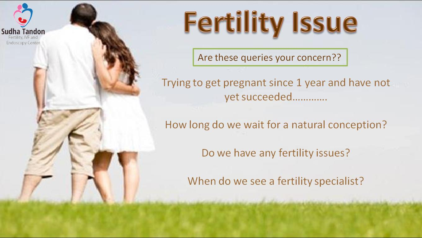 Who is the infertility problem?